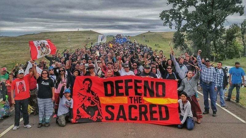 Native nations are standing united behind Standing Rock